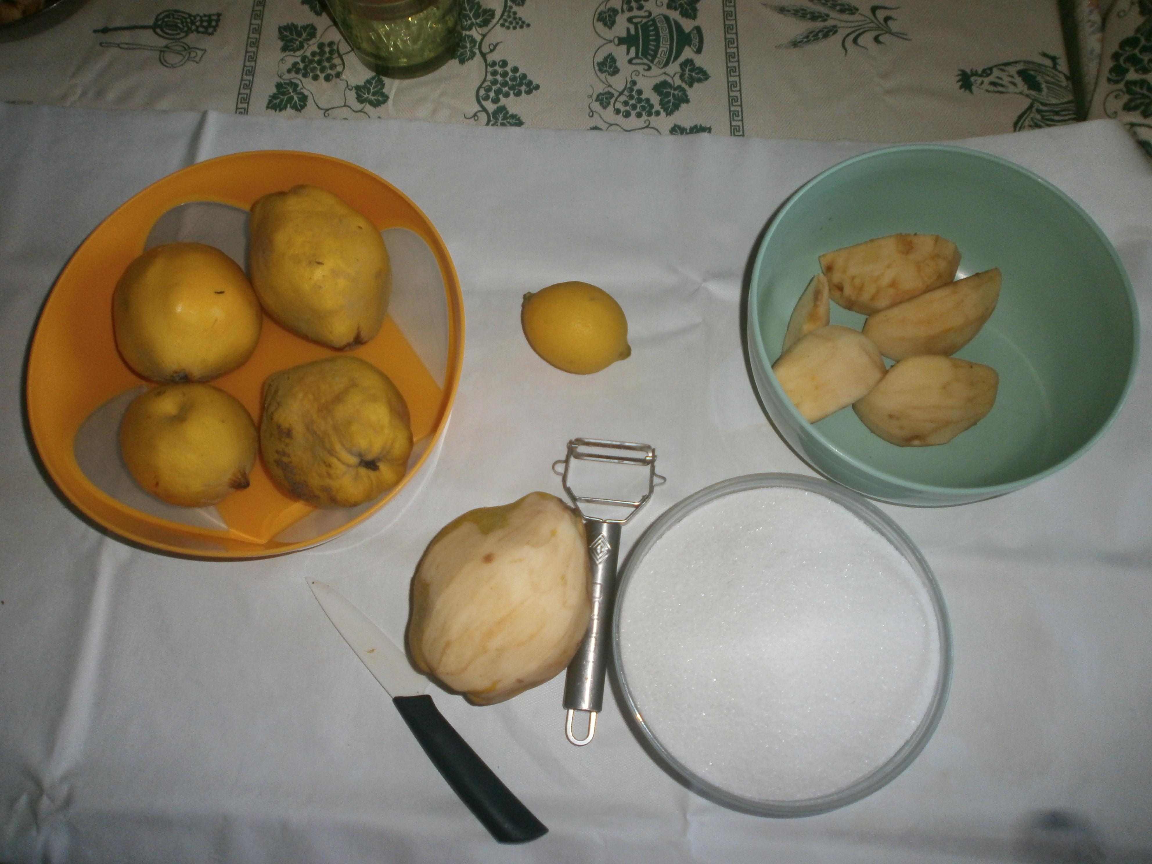 confettura di mele cotogne facile