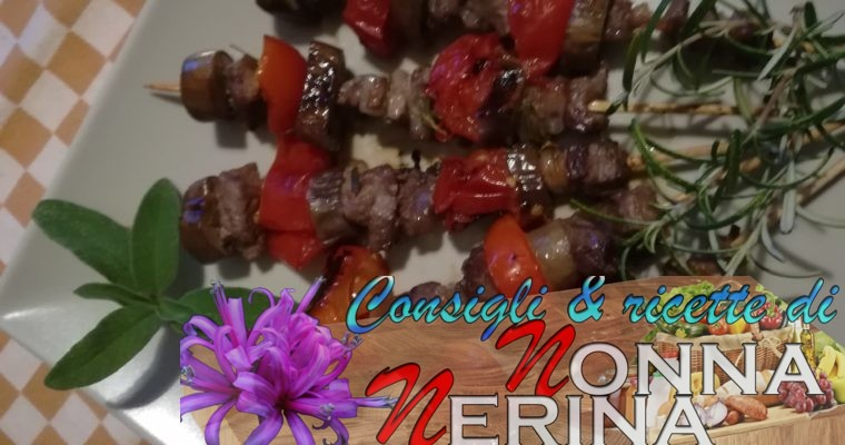 ARROSTICINI CON PERLINE