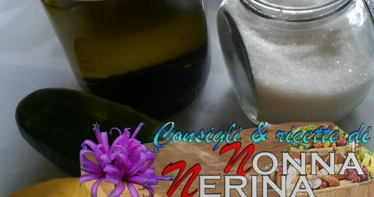 VINO DISSETANTE AL CETRIOLO (alcoolico)