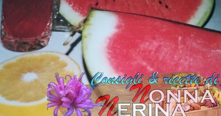 COCOMERO AL VINO E GRAND MARNIER (alcolico)